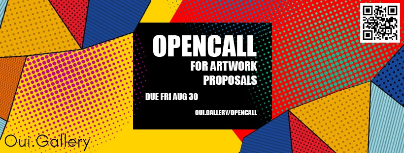 OPENCALL for artwork proposals