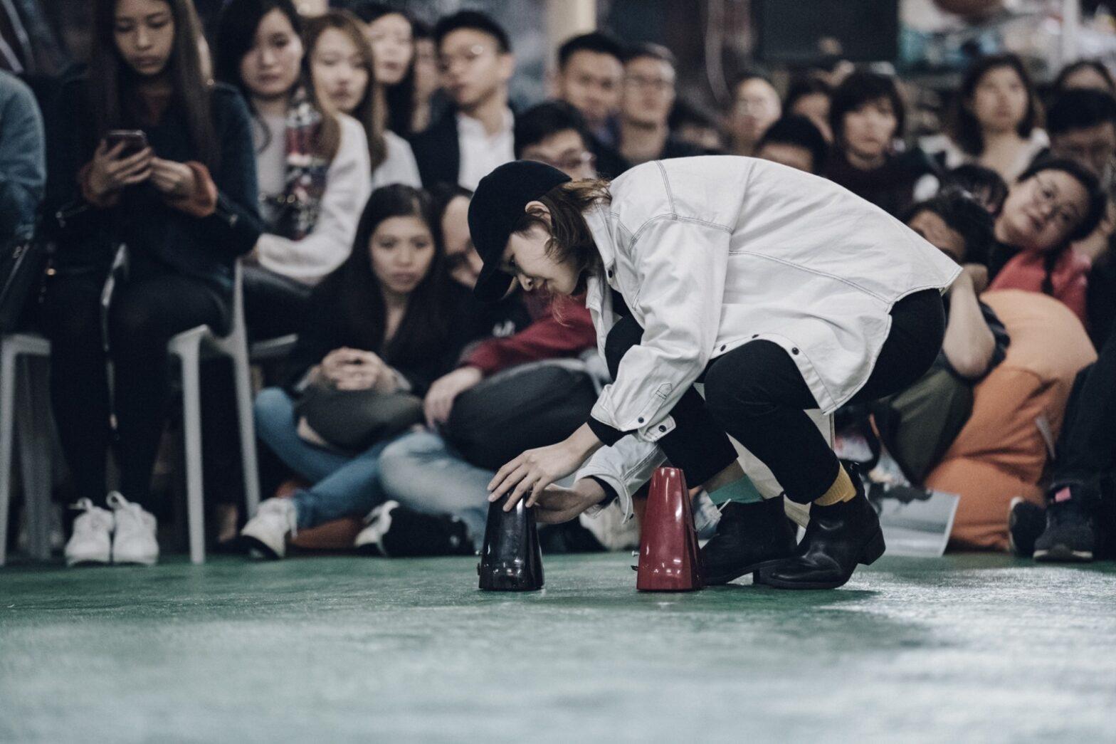 Kwan Q Li, Time Factory, 2018. Performance. Photo: Pan Chan